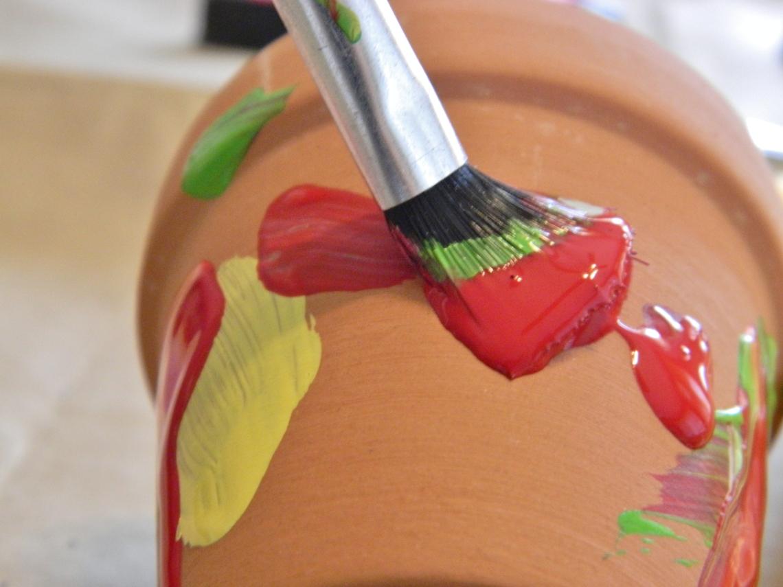 Januar Paint Ideas For Flower Pots
