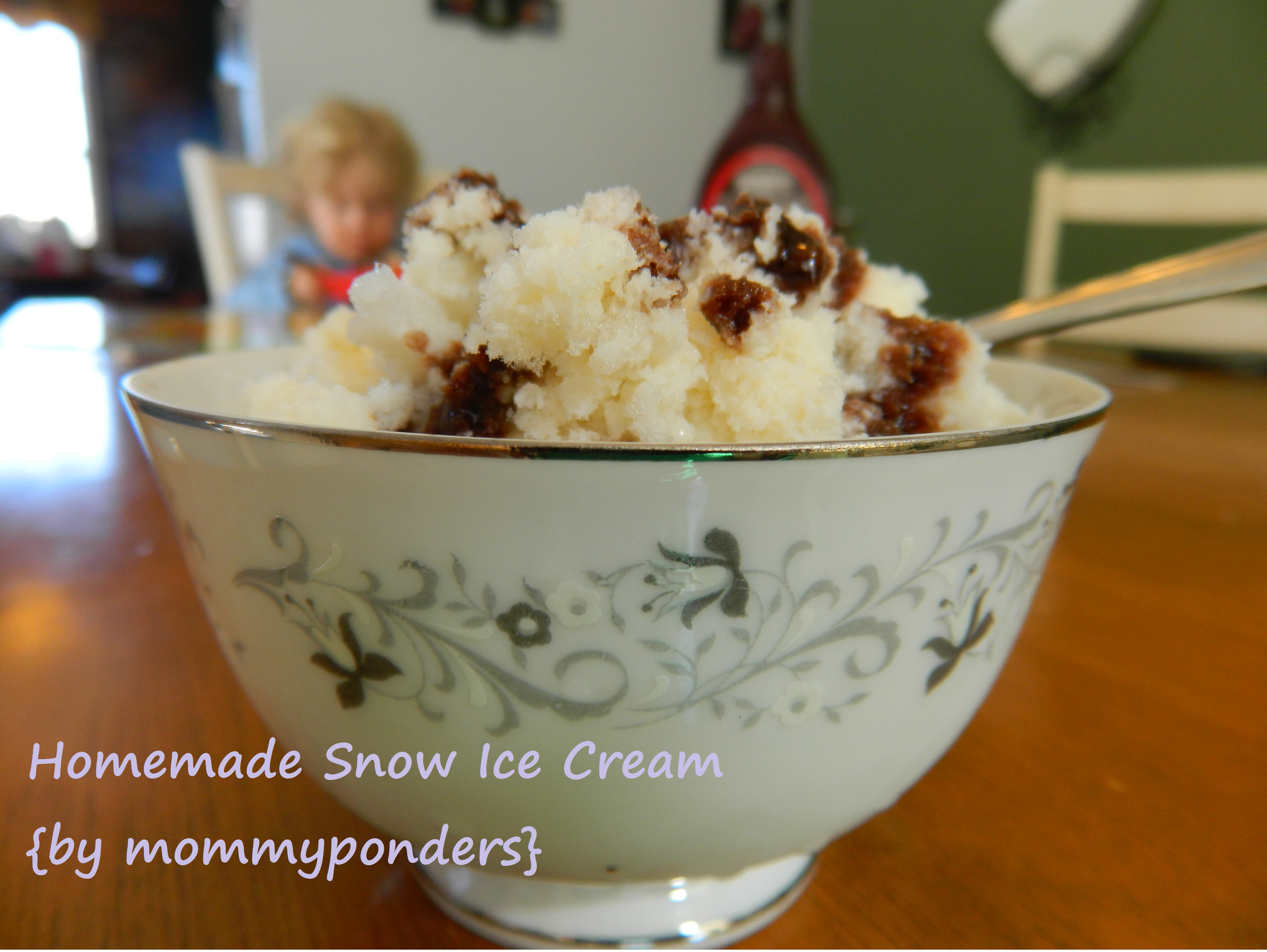 Snow ice cream love makes a family by mommyponders 019b ccuart Choice Image